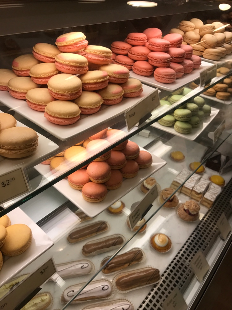 Macarons at a French bakery in Seattle, WA.